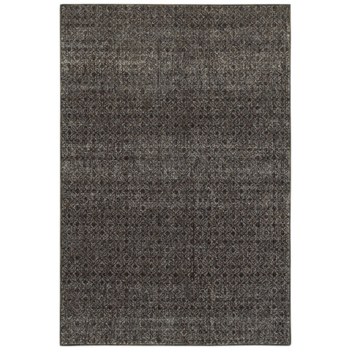 Atlas Heathered Rug in Brown