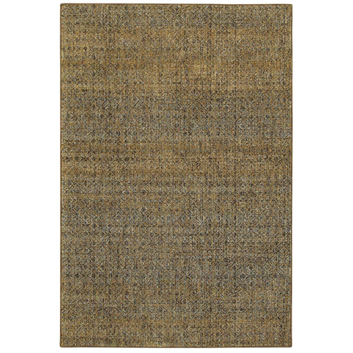 Atlas Heathered Rug in Green