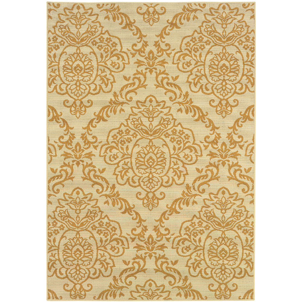 Bali Rug in Gold