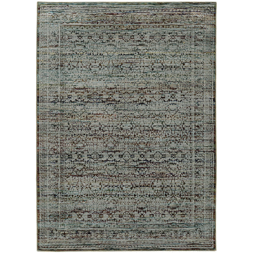 Andorra Beauxarts Rug in Blue