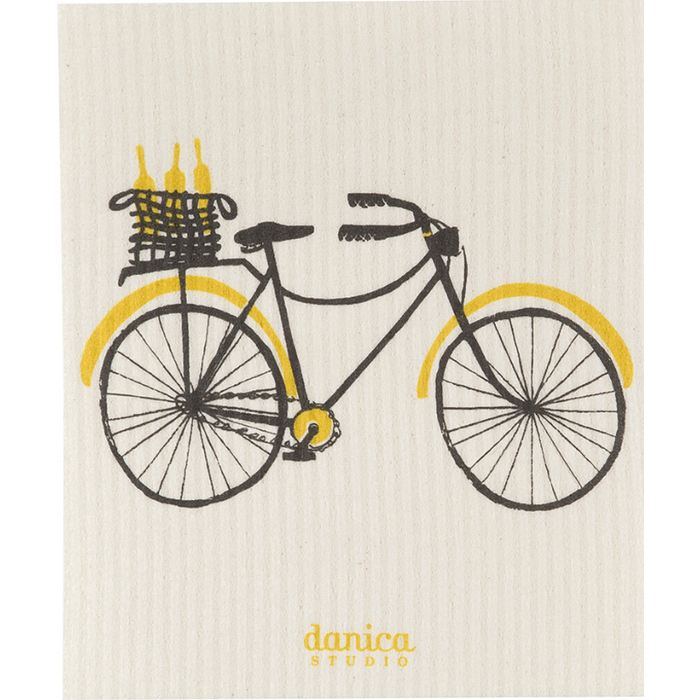 Bicicletta Swedish Dishcloth - Greenhouse Home