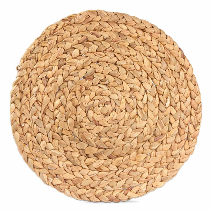 Braided Hyacinth Round Placemat - Greenhouse Home