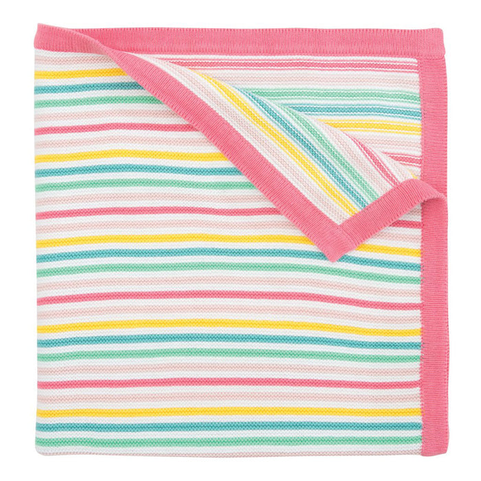 Bright Stripe Blanket - Greenhouse Home