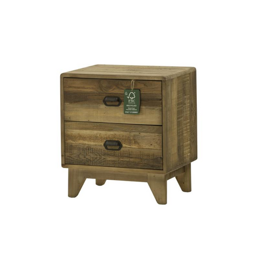 Campestre Modern 2 Drawer Nightstand