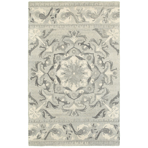 Craft Rug in Gray - Greenhouse Home