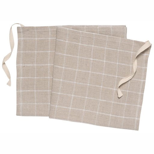 Denman Apron-Dish Towel in Check