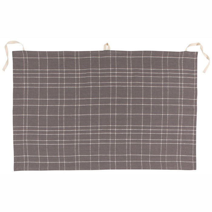 Denman Apron-Dish Towel in Grid - Greenhouse Home