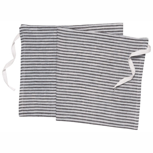 Denman Apron-Dish Towel in Stripe