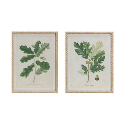 Oak Print Wall Decor