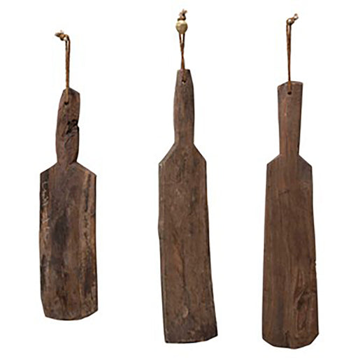 Cricket Bat Wall Hanging - Greenhouse Home