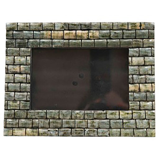 Green Wood & Bone Picture Frame