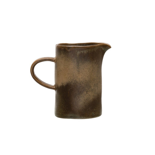 Stoneware Reactive Creamer - Greenhouse Home