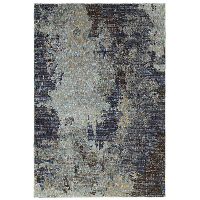 Evolution Rug in Blue