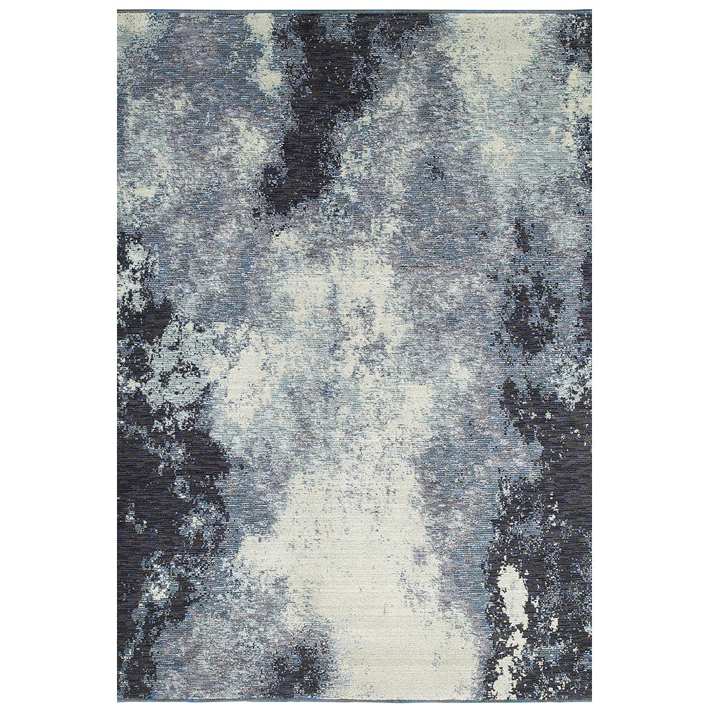 Evolution Rug in Navy