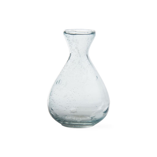 Aqua Floret Mini Tulip Vase - Greenhouse Home