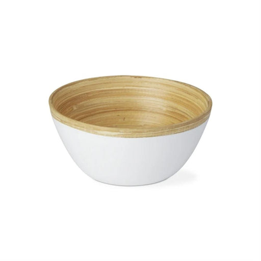 Small Bamboo Serving Bowl - Greenhouse Home