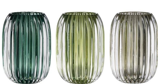 Faceted Candle Holder - Greenhouse Home