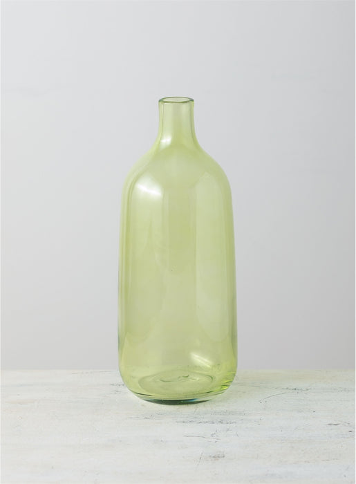 Glass Bottle Vase - Greenhouse Home