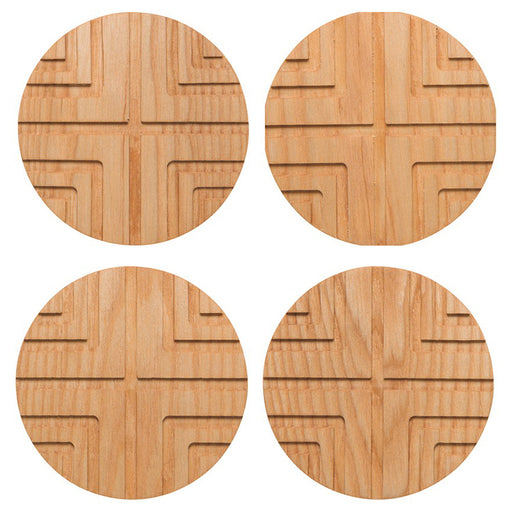 Cross Geo Coasters - Set of 4