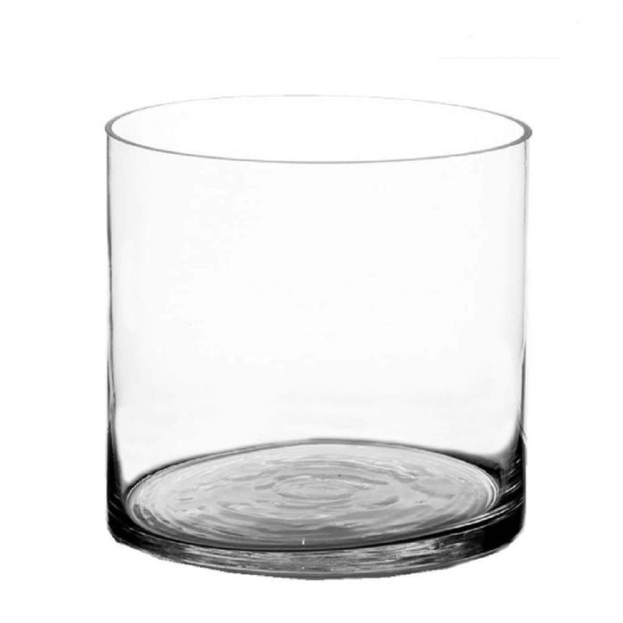 Clear Glass Cylinder Vase - Greenhouse Home