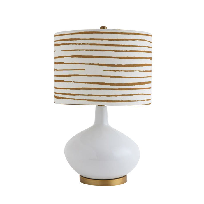 Gold Ceramic Table Lamp - Greenhouse Home