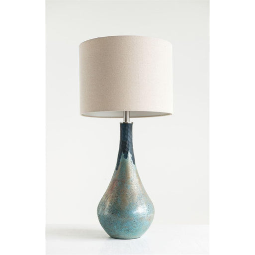Green Opal Table Lamp - Greenhouse Home