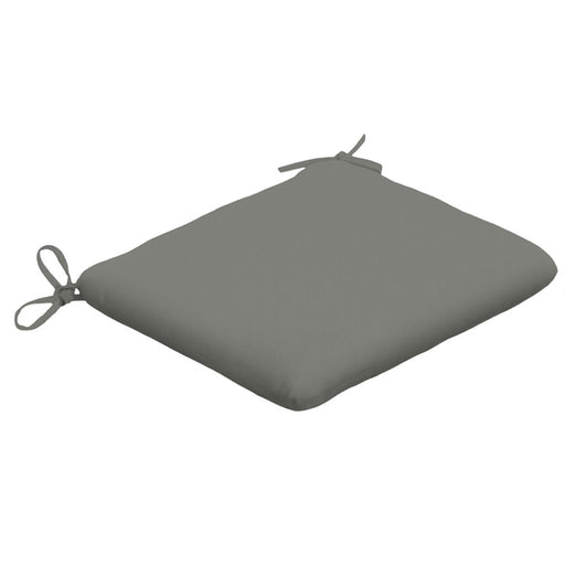 Square Seat Cushion with Ties