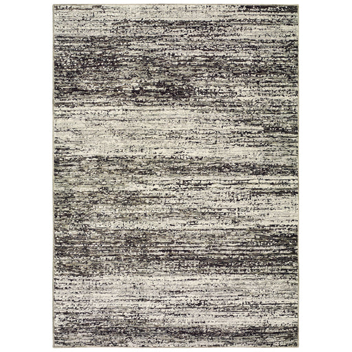 Atlas Heathered Rug in Gray