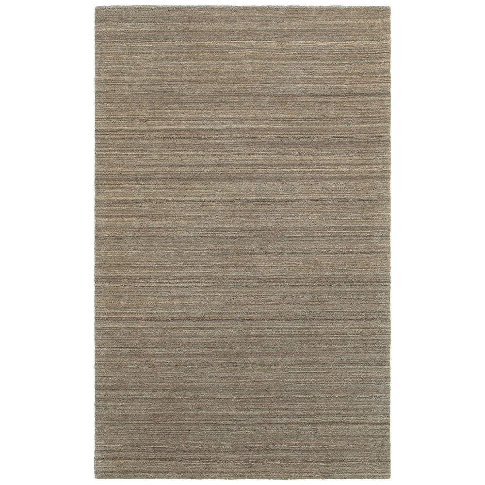 Infused Fine Lines Rug in Gray