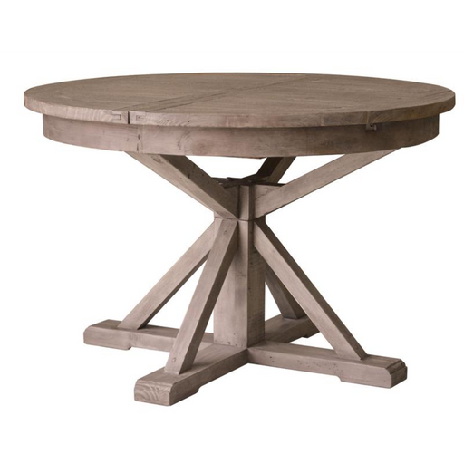 Irish Coast Round Extension Dining Table