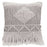 Square Textured Cotton Pillow - Greenhouse Home