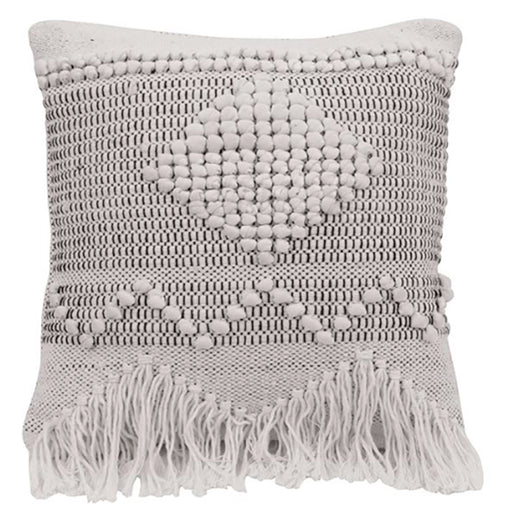 Square Textured Cotton Pillow