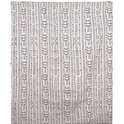 Cotton Mudcloth Pattern Throw