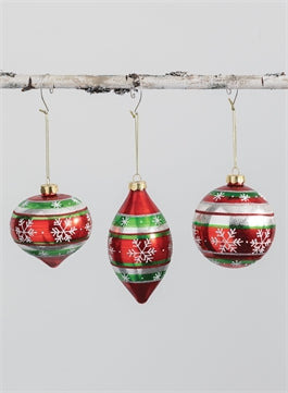 Ball Onion Drop Ornament - Greenhouse Home