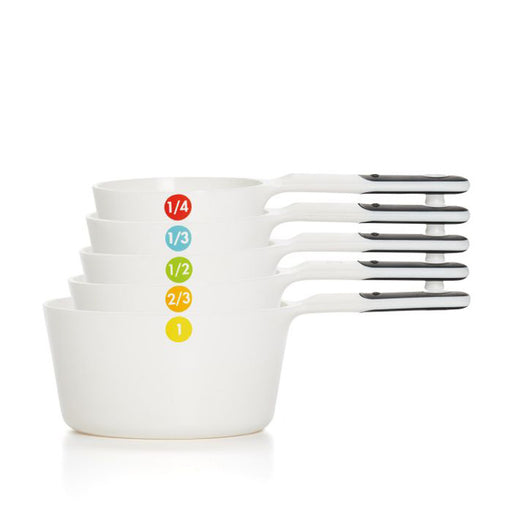 Plastic Measuring Cups - Set of 6