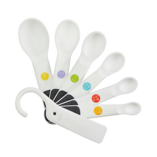 Plastic Measuring Spoons - Set of 7