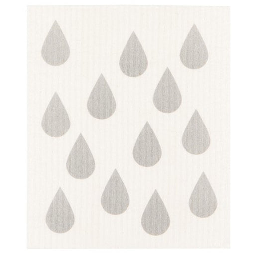 Rain Drop Swedish Dishcloth - Greenhouse Home