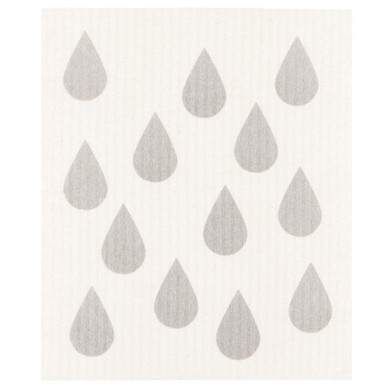 Rain Drop Swedish Dishcloth