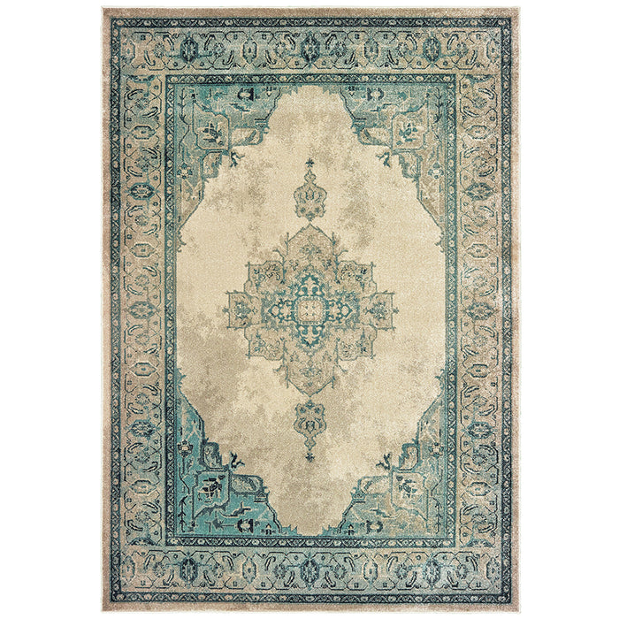 Raleigh Rug in Teal