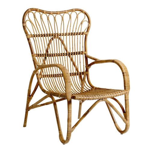 Rattan Lounge Chair - Greenhouse Home
