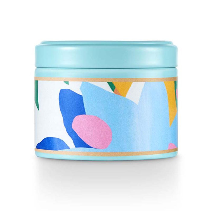 Sugared Blossom Happy Little Tin Candle - Greenhouse Home