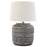 Embossed Ceramic Table Lamp - Greenhouse Home
