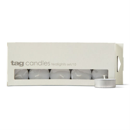 Basic Tealight Candles - Pack of 10