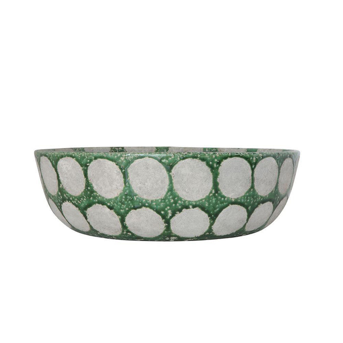 Decorative Terracotta Bowl - Greenhouse Home
