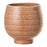 Textured Stoneware Flower Pot