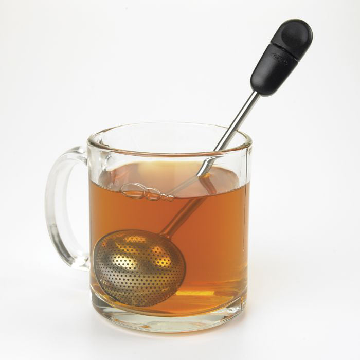 Twisting Tea Ball