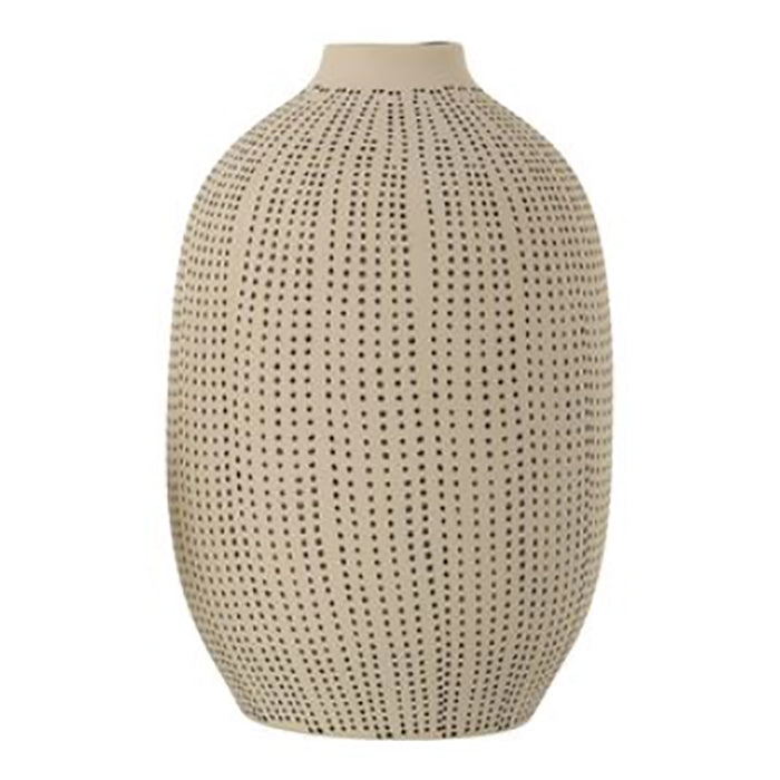 Textured Stoneware Vase - Greenhouse Home