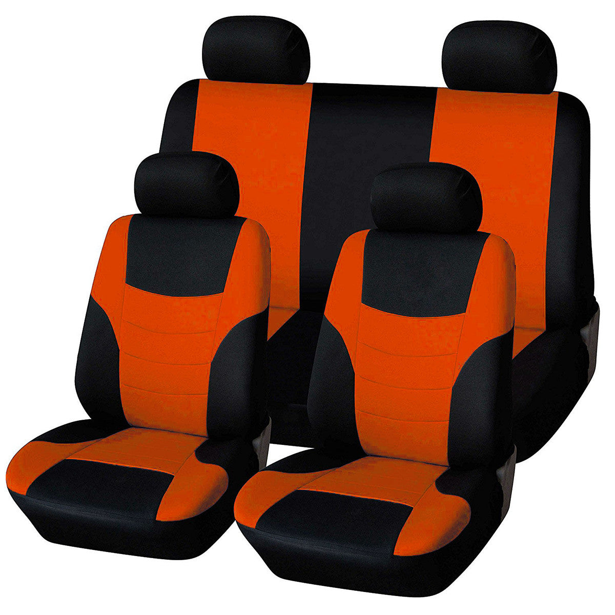 8Pcs Universal Classic Car Seat Cover Protector Styling Covers Set