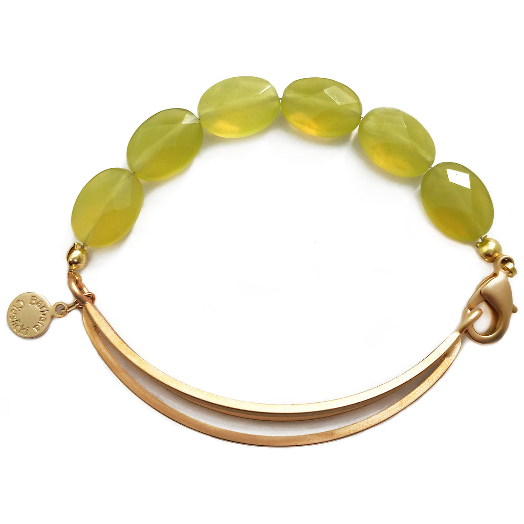 Korean Jade Bracelet by Barbara Cieslicki