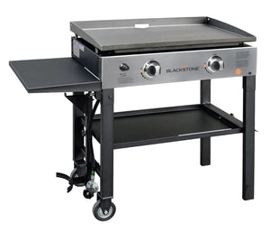Blackstone Stainless Steel Front 28In. Griddle - 2 Burner